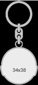 kľúčenka 34x38